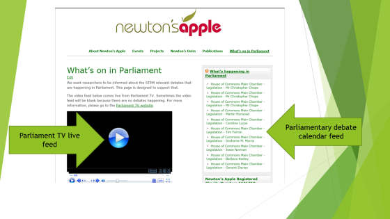 Parliament_TV_page_screenshot