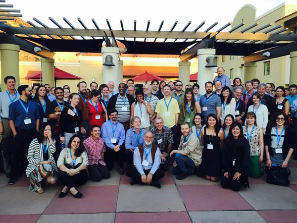 Delegates at the Inaugural ISEMPH meeting in 2015, in Tempe, Arizona.